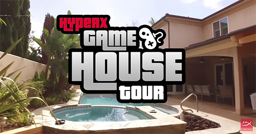 ムービー『SK Gaming CS:GO – HyperX Gaming House Tour』