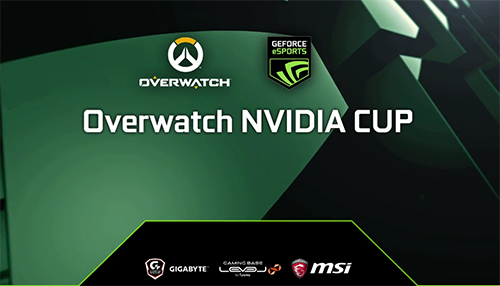 Overwatch NVIDIA CUP