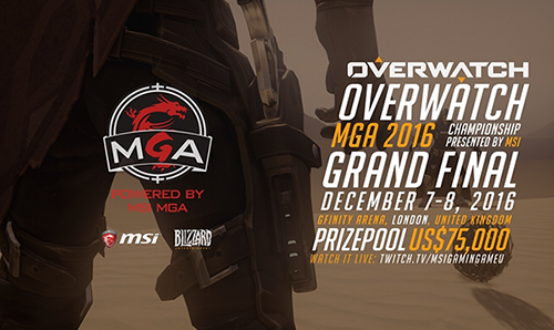 Overwatch MGA 2016 Championship Finals