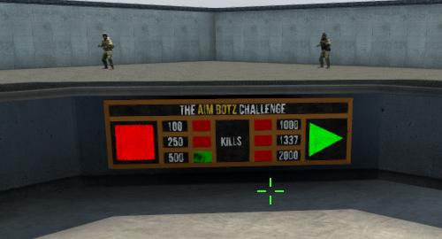 CS:GO Aimマップ『Aim Botz – Training』にタイムアタックモードが追加