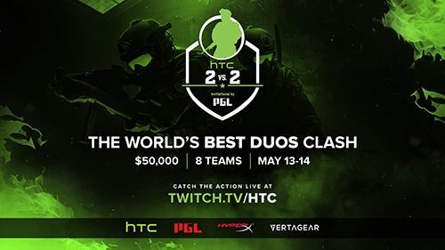 HTC 2v2 Invitational by PGL