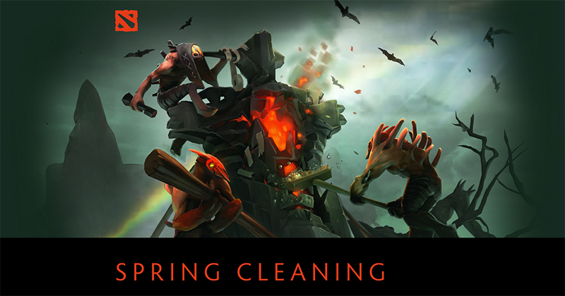 dota 2最新アップデート the spring cleaning 2018 update リリース