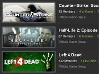 『Steam Community』にオフィシャルグループ追加
