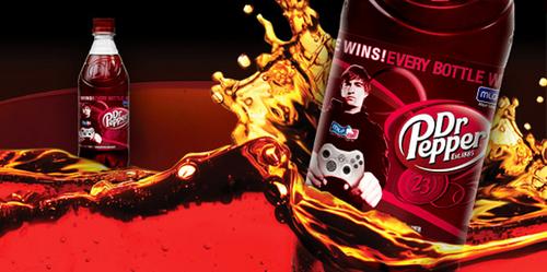 『Dr.Pepper』と『Major League Gaming』のコラボ製品が登場