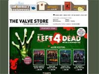 Valve Store で『Left 4 Dead』グッズ販売中