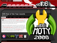 『2008 Mod of the Year Awards』投票スタート