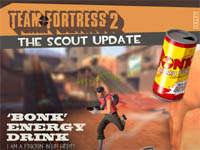 Scout Update アンロックアイテム Bonk Energy Drink と 35 の実績公開
