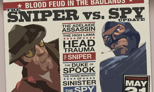 『The Sniper vs. Spy Update』アップデートリリース
