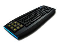 OCZ Technology がゲーミングキーボード『OCZ Sabre OLED Gaming Keyboard』を発表
