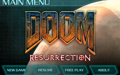 id Software が iPhone&iPod touch 向けアプリ『DOOM Resurrection』をリリース