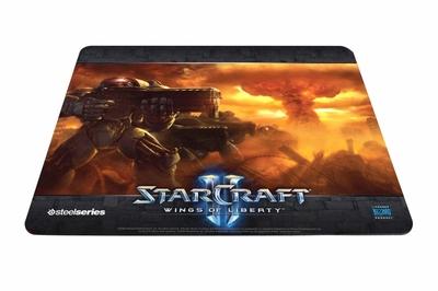 ゲーミングマウスパッド『SteelSeries Qck』 Starcraft® IIモデル発売中