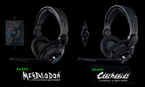 ゲーミングヘッドセット『Razer Megalodon 7.1 Surround Sound Gaming Headset』 & 『Razer Carcharias』レビュー