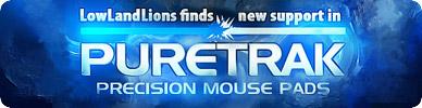ゲーミングマウスパッドブランド『PureTrak』と LowLandLions が提携