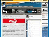 スポーツブランド『PUMA』が『MYM』のメインスポンサーに