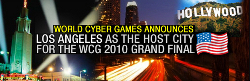 『World Cyber Games』2010 年大会の開催都市がロサンゼルス(アメリカ)に決定