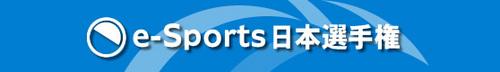 『e-Sports 日本選手権』いよいよ今週末に開催