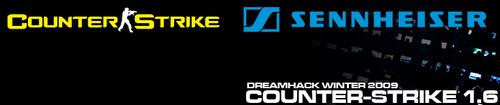 『Dreamhack Winter 2009』Counter-Strike1.6 予選リーグ組み合わせ