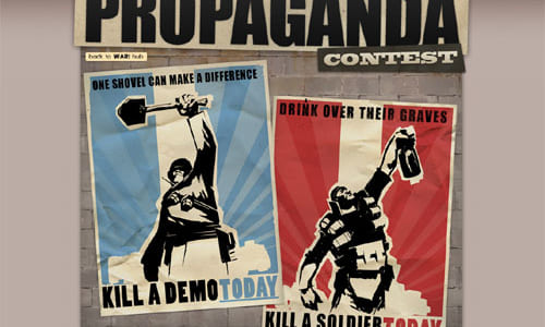 『The War Update』特設サイトでポスターコンテスト『The Propaganda Contest』開催
