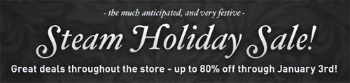 『Steam Holiday sale』5 日目の特別価格タイトル発表