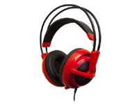 SteelSeries 公式オンラインショップで『SteelSeries Siberia v2 Full-size Headset』のレッドバージョン発売