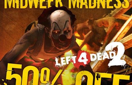 3 日間限定、Steamにて『Left 4 Dead 2』が半額となる $24.99 で販売中