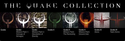 Quake シリーズパック『QUAKE Collection』が Steamにて 50% オフの $14.99 で販売中