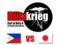Call of Duty 4 大会『BLKG Japan vs Philippines』準決勝戦結果