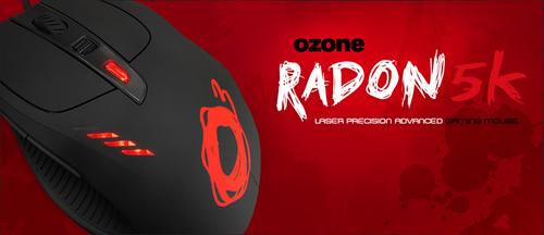 『Ozone Gaming』がゲーミングマウス『Ozone Radon 3K』と『Ozone Radon 5K』を発表