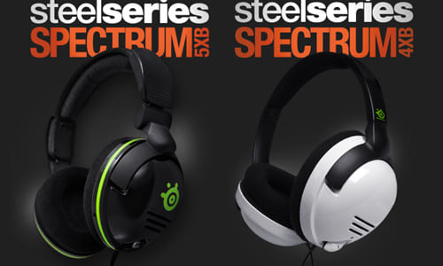 『SteelSeries』が Xbox360 用のゲーミングヘッドセット『SteelSeries Spectrum 5xb』『SteelSeries Spectrum 4xb』を発表