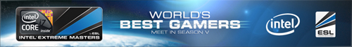 『Intel Extreame Masters Season V World Championship Finals』の賞金内訳発表