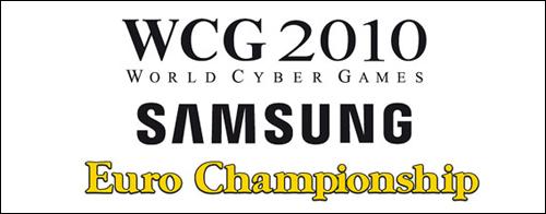 『WCG 2010 Samsung Euro Championship』開催決定、競技タイトル発表