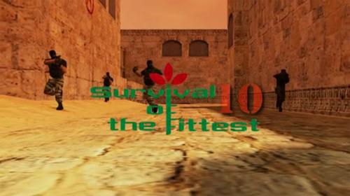 ムービー『Survival of the fittest – 10 Frag Highlight Movie』