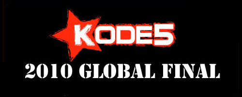 『KODE5 2010 Global Final』CNB-Gaming が優勝