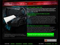 ウィシュリストに登録したゲーミングデバイスが 10 名に当たる『2010 Razer Holiday Gift』キャンペーン開始