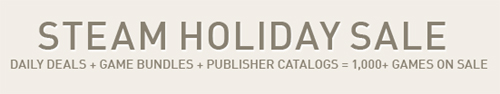 『Steam Holiday Sale』13 日目の日替わりタイトル発表