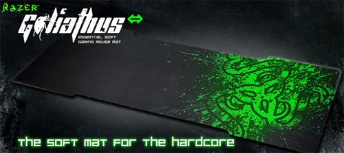 デスクサイズのゲーミングマウスパッド『Razer Goliathus Extended Limited Edition Gaming Mouse Mat』が 2 月 25 日(金)より国内販売開始