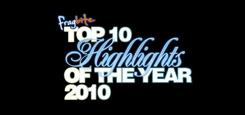 ムービー『Fragbite Top10 Highlights of the Year 2010』