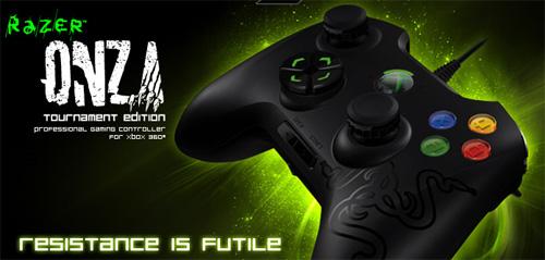Razer が『Razer Onza Xbox 360 Gaming Controller』 『Razer Onza Tournament Edition Xbox 360 Controller』を 8 月 25 日(木)より国内販売開始