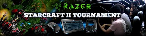 優勝賞金 5 万円の『Razer Starcraft2 Tournament』を 2 月 26 日(土)に東京・代々木で開催