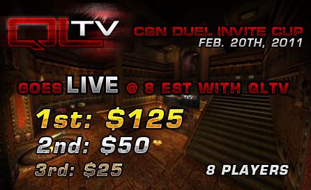 招待制の Quale Live トーナメント『CSN Duel Invite Cup』がアメリカで開催中