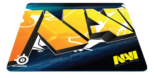 『SteelSeries』がゲーミングマウスパッド『SteelSeries Qck+ Team Natus Vincere Edition』を発表