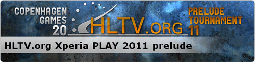 HLTV.org が『Xperia PLAY prelude tournament』を開催