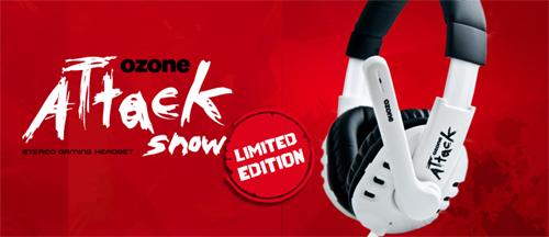ゲーミングヘッドセット『Ozone Attack Snow』が 4 月 6 日(水)より 4,480 円で発売開始