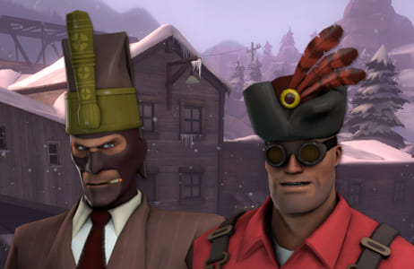 『Team Fortress 2』のアイテムが手に入る『Mount & Blade With Fire & Sword』と『SpaceChem』のキャンペーン実施中