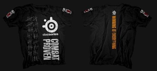 『SteelSeries』が格闘技ウェアブランド『Orcbite』とのコラボ T シャツを発売開始