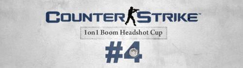 『CS 1on1 Boom Headshot Cup # 4』が 19 時 45 分から開催