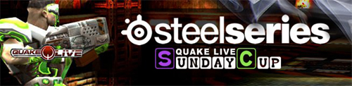 『QuakeLive Sunday Cup (JP) #9 with SteelSeries』5 月 29 日(日)に開催