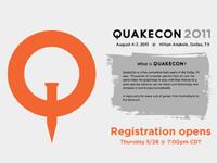 『QuakeCon 2011』の参加登録が 5 月 27 日(木)より開始