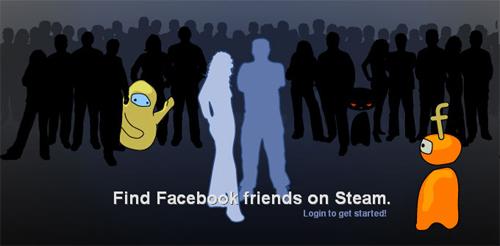 Steam Profile と Facebook を連携しフレンドを探すことが可能に