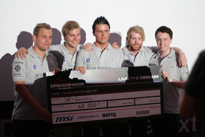 『DreamHack Summer 2011』DreamHack MSI Championship で SK Gaming が優勝